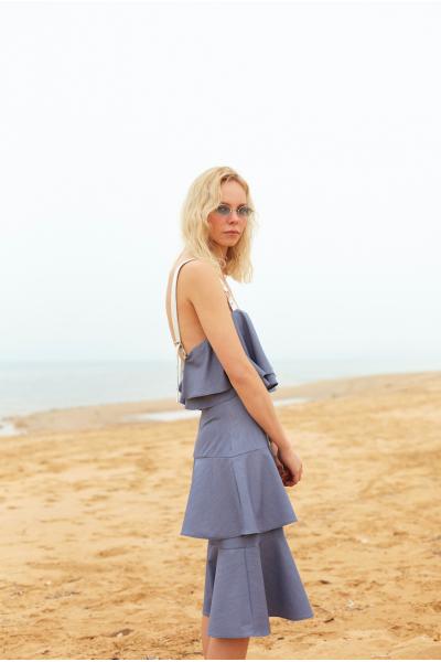GILI DRESS BLUE