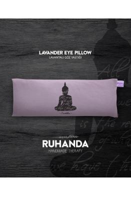Ruhanda Buddha Sembollü Lavantalı Göz Yastığı