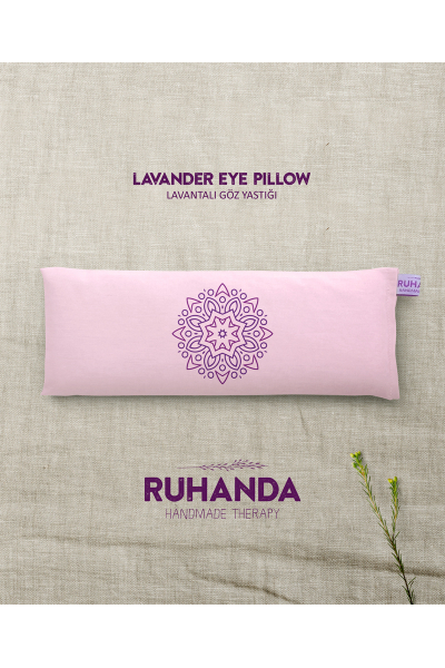 Mandala Lavantalı Göz Yastığı Mandala Lavantalı Göz Yastığı