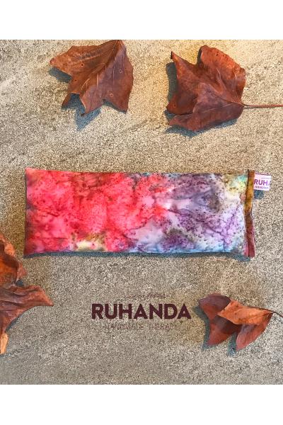 Batik Desenli Lavantalı Göz Yastığı - kılıflı Batik Desenli Lavantalı Göz Yastığı - kılıflı