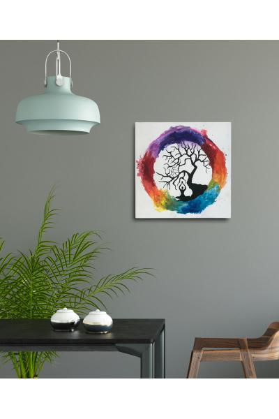 Çakra Meditasyon Tablo