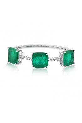 Misadel Bijoux Carmen Yeşil Taşlı Kelepçe Bileklik