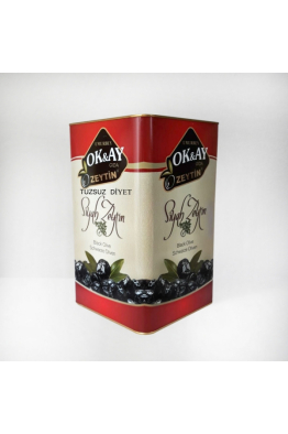 Okay Zeytin § Zeytin yağı 4 kg Süper tuzsuz diyet siyah zeytin