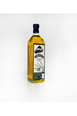 Okay Zeytin § Zeytin yağı 1 Lt Soğuk Sıkım Zeytinyağı Marasca cam şişe