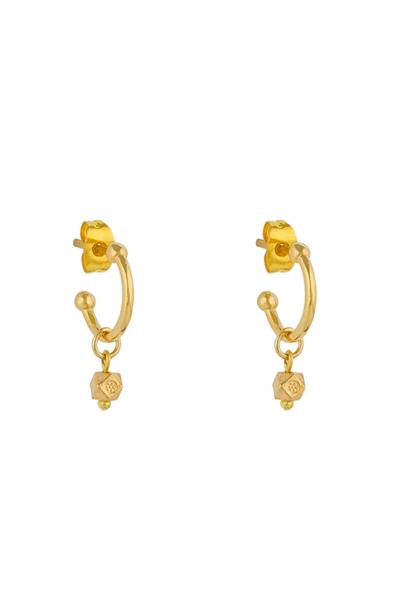 Mini Candice Gold Küpe Mini Candice Gold Küpe
