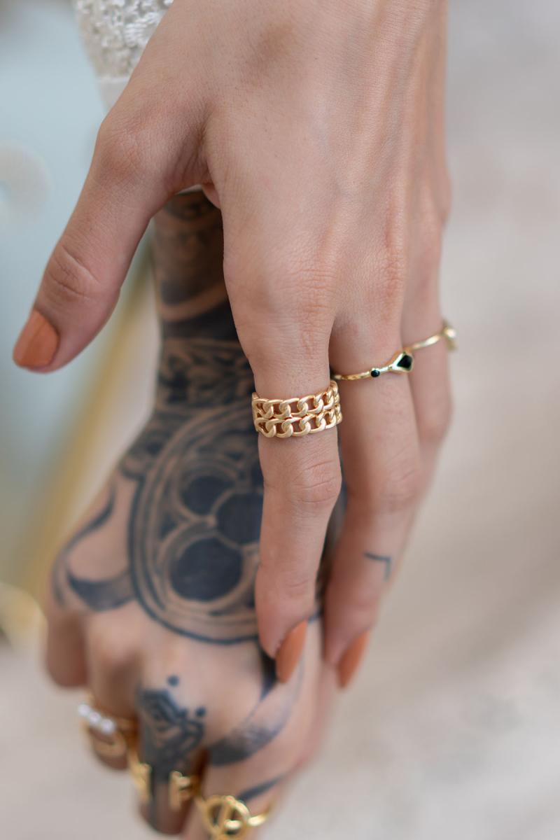 Chain Gold Yüzük
