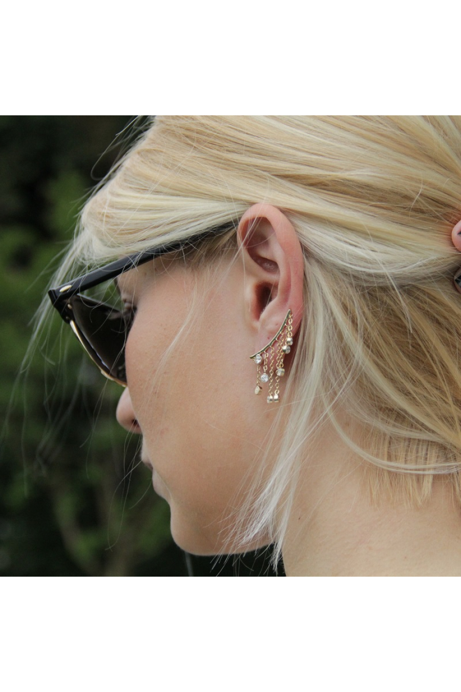 Shower Ear Cuff Küpe