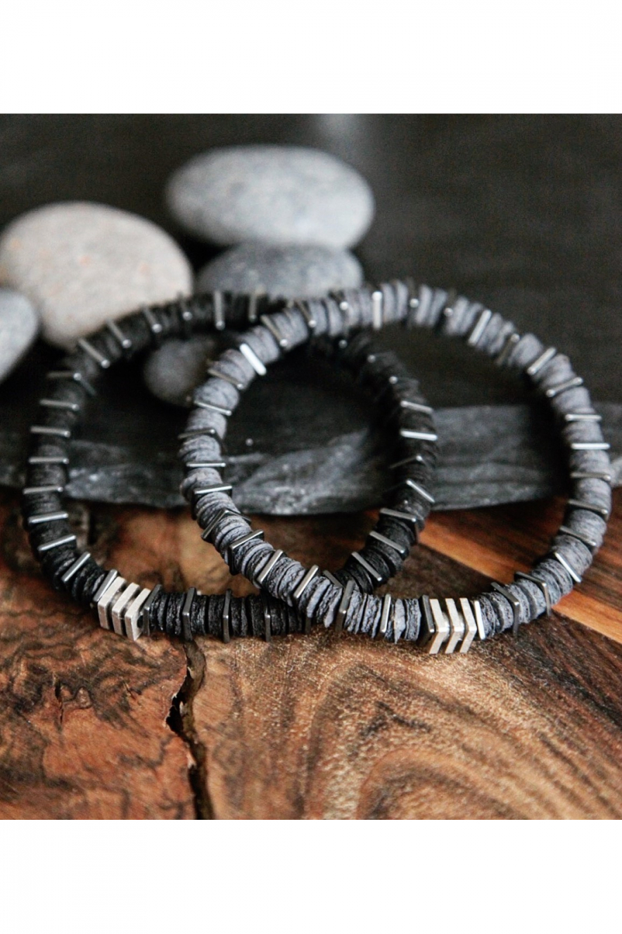 Black Leather Bileklik