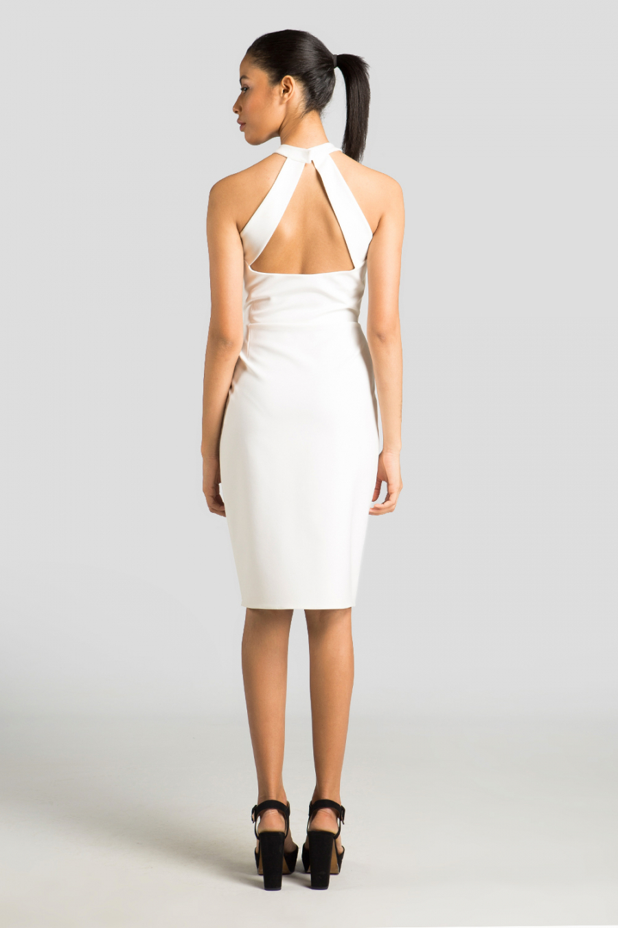 Panel Detaylı Elbise
