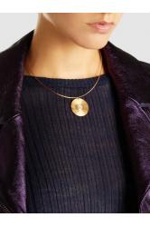 Sun Gold-Plated Opal And Sapphire Choker