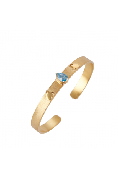 Mavi Gemstone Amphora Cuff