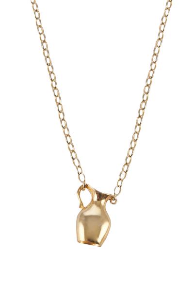 Gold Amphora Kolye
