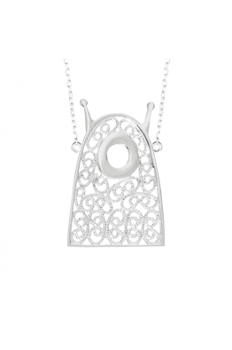 Luft Jewellery Little Alien Telkari Kolye - Gümüş