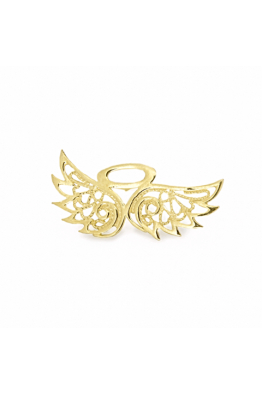 Luft Jewellery Angelo Telkari Yaka İğnesi - Altın Kaplama
