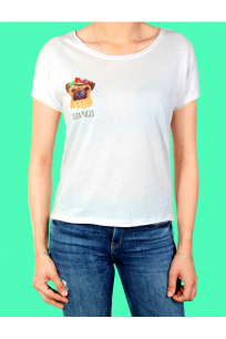 Turn & Bake Frida Puglo T-shirt