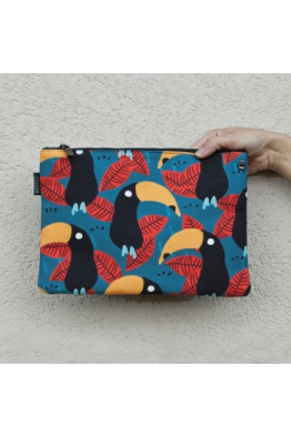 Woohoo Dream Tukan Kuşu Clutch
