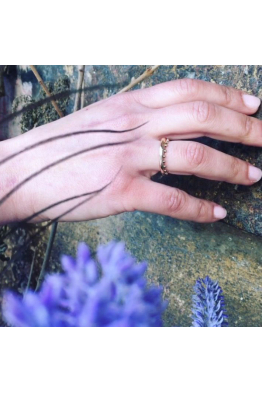 Lucida Jewelry İnce Bronz Yüzük