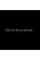 Mavi Yeşil Kelebek Desenli Kimono