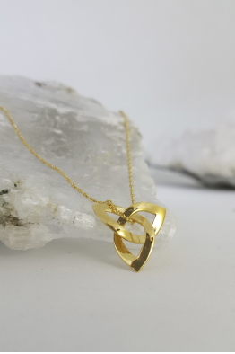 Tuba Atman Kelt Serisi / Kolye / Rose / Gold