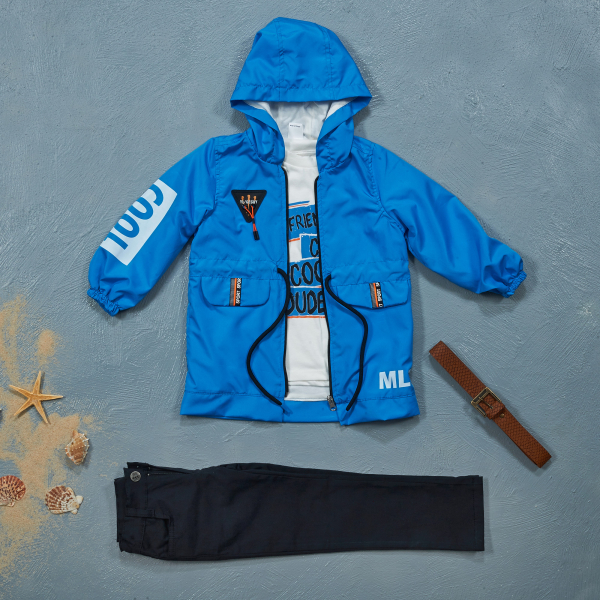 3-piece Sets with Raincoats COOL25024