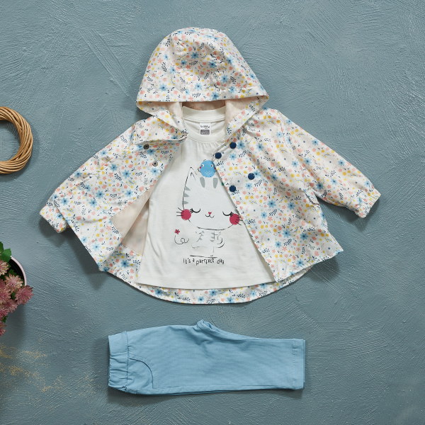 3-piece Sets with Raincoats BUBBLY1502 3-piece Sets with Raincoats BUBBLY1502