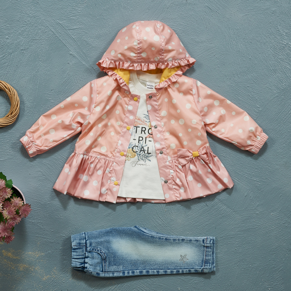 3-piece Sets with Raincoats BUBBLY1503 3-piece Sets with Raincoats BUBBLY1503