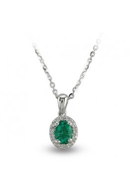 Blue Diamond Zümrüt Pırlanta Kolye