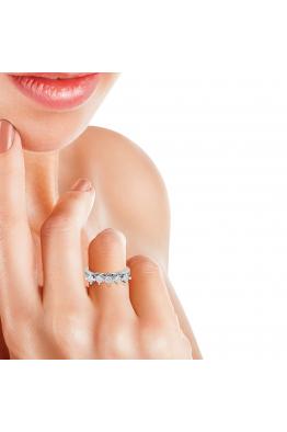 Blue Diamond 0,85 Karat Beştaş Pırlanta Yüzük