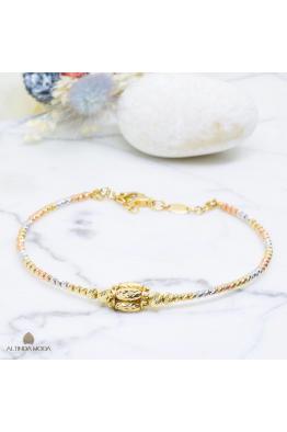 Altında Moda Altın Dorika Kelepçe