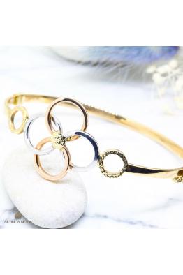 Altında Moda Altın Olimpiyat Kelepçe