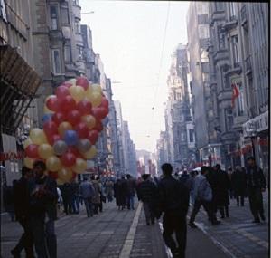 İstiklal Caddesi yayalaştırma sonrası