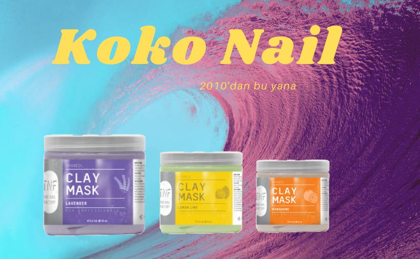Koko Nail Kil Maskesi Ürünleri